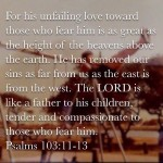 God loves us He is a good father love