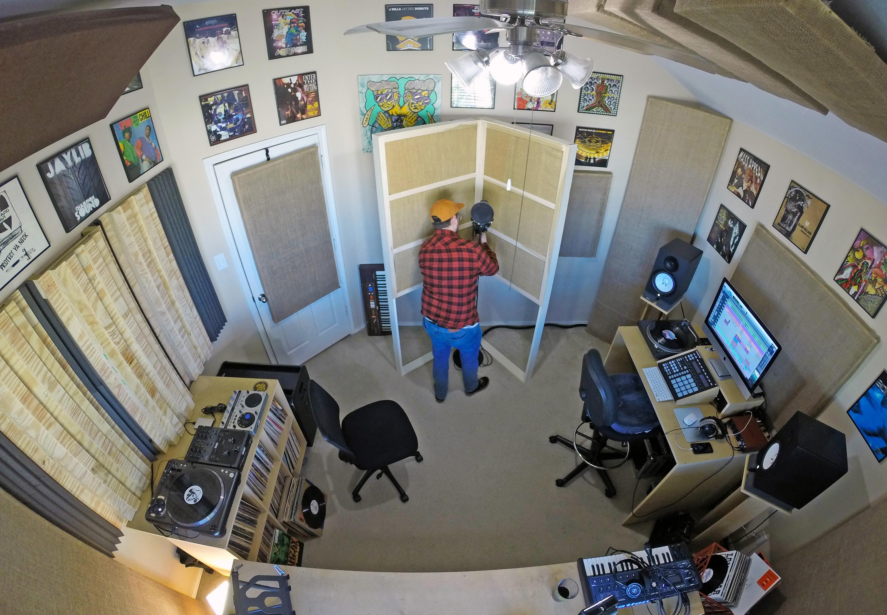 Dj Sean P Studio Mic Setup